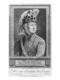 The Chevalier d'Eon as a Dragoon, 1779 Giclee Print by P. Jean Baptiste Bradel