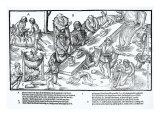 MacSweeney's Feast, Plate 3 from 'The Image of Ireland' by John Derricke, 1581 Giclee Print by Friedrich Van Hulsen