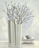 Silver Inspiration II Kunstdrucke von Karin Valk