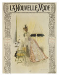 Fashion Plate, Cover Illustration from 'La Nouvelle Mode', 1897 Giclee Print by Felix Fournery