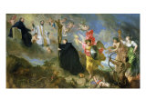 The Vows of Saint Aloysius of Gonzaga Giclee Print by Theodor Boeyermans