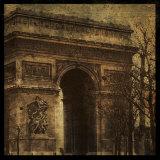 Arc de Triomphe Affiches par John Golden
