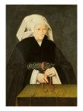 Portrait of a Woman, c.1550 Giclee Print by Bartholomaeus Bruyn