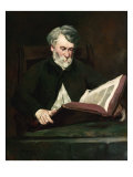 The Reader, c.1861 Giclee Print by &#201;douard Manet