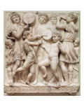Musical Angels, Relief from the Cantoria, c.1432-38 Giclee Print by Luca Della Robbia