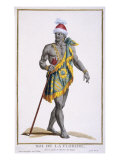The King of Florida, 1780 Giclee Print by Pierre Duflos
