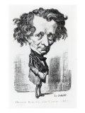 Hector Berlioz Giclee Print by Etienne Carjat