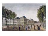The Luxembourg Palace, c.1815-20 Giclee Print by Henri Courvoisier-Voisin