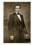 Abraham Lincoln, May 1860 Giclee Print by Mathew Brady & Studio