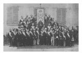 A Provincial French Masonic Lodge Giclee Print