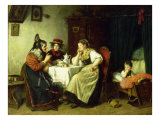 The Gossips, 1887 Giclee Print by Rudolf Epp