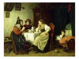 The Gossips, 1887 Giclee Print by Rudolf Epp