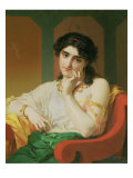 A Classical Beauty Giclee Print by Pierre Oliver Joseph Coomans
