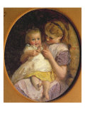 Pat-a-cake Giclee Print by George Elgar Hicks