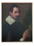 Self Portrait Giclée-tryk af Francesco Bassano