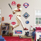 Chase Utley Wall Decal