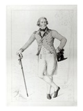Thomas Bruce, 7th Earl of Elgin, engraved by George Perfect Harding, 1787 Giclée-tryk af Anton Graff