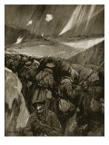Bulgarians Besieging Adrianople, 1912-1913 Giclee Print by Cyrus Cuneo