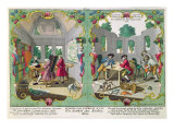 Good and Bad Children, First Half of Eighteenth Century Giclee Print by Martin Engelbrecht