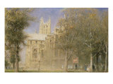 Canterbury Cathedral Giclee Print by Albert Goodwin