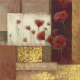 Red Poppies II Prints by Danielle Nengerman