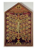The Tree of Life, c.1310 Giclee Print by Pacino Di Buonaguida