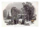 Christmas Morning: Going to Church, engraved by W.J. Linton, from 'The Illustrated London News' Giclee Print by George Haydock Dodgson