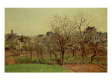 The Orchard, 1870 Giclee Print by Camille Pissarro