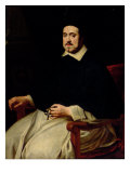 Portrait of Ambrosius Cappelus, Bishop of Antwerp Giclee Print by Abraham Van Diepenbeck
