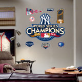 New York Yankees 2009 World Series Champions Logo Wall Decal