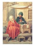 The Ottoman Scribe Giclee Print by Antonio de Dominici