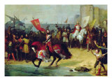 The Recapture of Cadiz in 1262 by Alfonso the Wise Giclee Print by Manuel Cabral y Aguado Bejarano