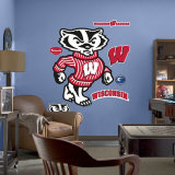 Wisconsin Mascot - Bucky Badger Wall Decal