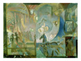 The Circus, c.1910 Giclee Print by Georgij Bogdanovic Jakulov