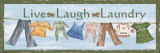 Live Laugh Laundry Prints by Grace Pullen