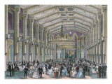 Sophien-Bad-Saal, a Court Ball in the Hofburg Palace, Vienna Giclee Print by Franz Kollarz