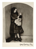 Agnes Florence Price, 7th October 1863 Giclee Print by Charles Lutwidge Dodgson