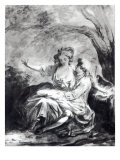 A Meeting Place for Love Giclee Print by Jean-Honore Fragonard