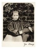Zoe Strong, 10th October 1863 Giclee Print by Charles Lutwidge Dodgson