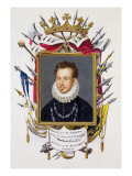 Portrait of Charles IX of France Giclee Print by Sarah Countess Of Essex