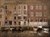 Gondolas II Prints by John Warren
