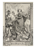 Queen Morgan le Fay, illustration, 'Stories of King Arthur and the Round Table' by Beatrice Clay Giclee Print by Dora Curtis