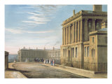 The Royal Crescent, Bath 1820 Giclee Print by David Cox