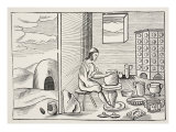 A Potter, from 'Orbis Sensualium Pictus', Pub. 1658 Giclee Print by John Amos Comenius