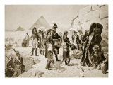 Napoleon in Egypt, Illustration from &#39;Hutchinsons History of the Nations&#39;, C.1910 Giclee Print by E. Fiorillo