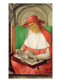 Portrait of St. Jerome Giclee Print by Joos van Gent