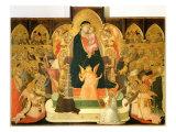 Maesta Giclee Print by Ambrogio Lorenzetti