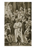 The Baptism of Clovis, Rheims, 496 A.D. Giclee Print by Joseph Paul Blanc
