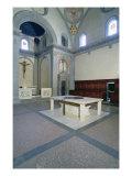 View of the Interior, built c.1420-29 Giclée-tryk af Filippo Brunelleschi