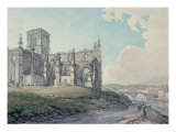 Prior Church, Haddington, 1786 Giclee Print by Thomas Hearne